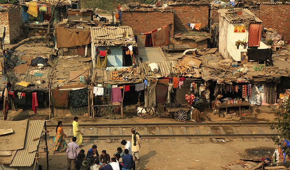 Larger slum