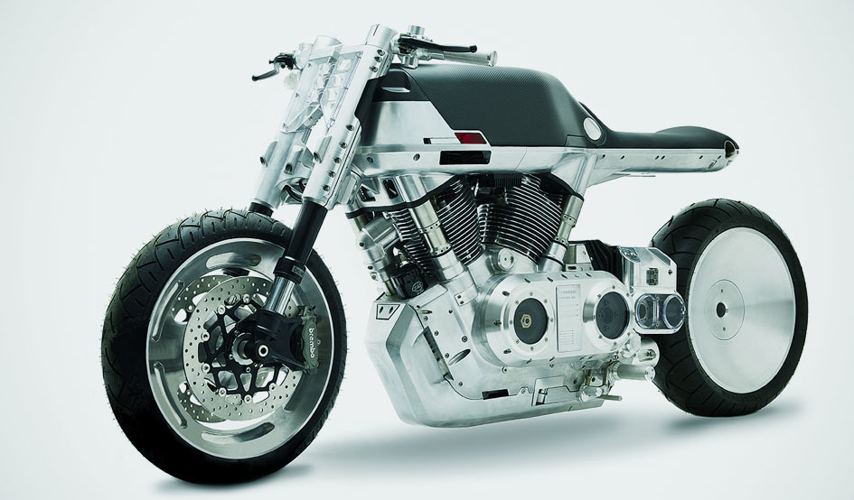 Larger vanguard roadster motorcycle embed