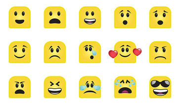 Small emoticons