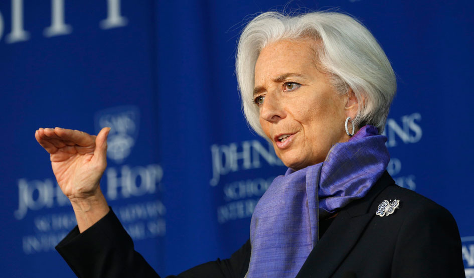 Larger larger christine lagarde