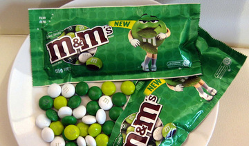 Small mint tastic m and m s