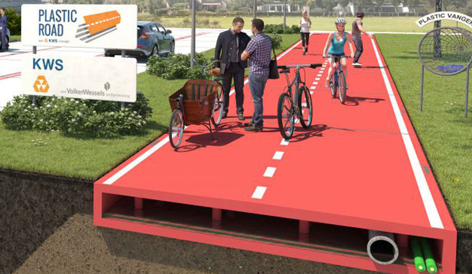 Larger plastic road 2